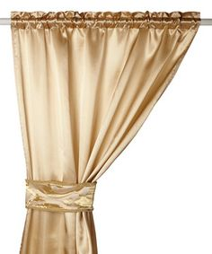 Hang for a focal wall effect at reception, or part of the backdrop for a fabulously elegant wedding! LOVE! LOVE! LOVE! LOVE! LOVE! LOVE!  The perfect complement to a stunning view, this luxurious curtain set features an elegant hue.