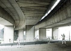 Dark Lens Series - 26 - Stormtroopers Under the Bridge - Cedric Delsaux
