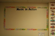 This is a great way to recognize how students use music outside of your classroom! Hillary's Highlights: Confessions of a Music Teacher: Classroom Tour. Such a great resource! Music Classroom, Future Classroom, School Classroom, Classroom Ideas, Music Teachers, Classroom Design, Classroom Activities, Music Bulletin Boards, Parenting Classes
