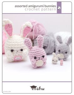 amigurumi bunny pattern  cute crochet rabbit pattern by mohustore, $4.00