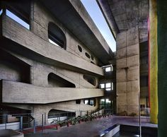 Le Corbusier, High Court, Chandigarh, Punjab, India (1952-56