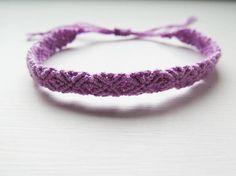 Lilac Monochrome Bracelet