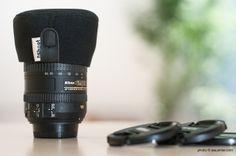 Tapas de neopreno para los objetivos, la mejor opción. Nikon 16-855mm + Tapa Neopreno iShoot