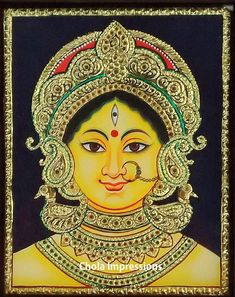 Learn how a Tanjore Painting is made using authentic methods. This is our attempt to help budding artists/ learners understand the various processes and the amount of work & artistry involved in the making of a Tanjore Painting.
