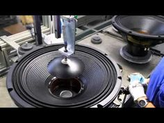 Welcome to the Loudspeaker Manufacturing Facility in Reggio Emilia, Italy! Watch, as two state-of-the-art Production lines create woofer, midbass and midrange transducers. source buy motorhomes in Canada – Loudspeaker Manufacturing Facility Related Electrical Projects, Electronics Projects, Hifi Audio, Car Audio, Hifi Speakers, Speaker Plans, Instrument Sounds, Music Machine, Sound Speaker