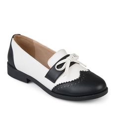 8ca70116e8 24.99 Take a look at this Black Tie-Accent Gloria Loafer - Women today!