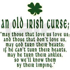 Old Irish Curses | an_old_irish_curse_framed_tile.jpg?height=460&width=460&padToSquare ...