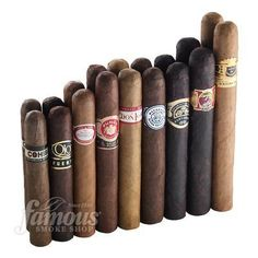 'Best Of General Cigar' Sampler #4 The General Cigar Company makes and markets some of the world's finest and most popular cigars, including Macanudo, Partagas, Punch, Hoyo De Monterrey, Excalibur, La Gloria Cubana, Sancho Panza and many more. When it comes to overall quality, flavor and price, you can't miss with any of the cigars shown here.  http://www.famous-smoke.com/best+of+general+cigar+sampler+no.+4+cigars/item+39717