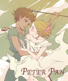 Peter Pan and Wendy Darling. I love Non Disney looking versions of Peter Pan.
