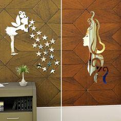 Reflections Decorative Mirror Sticker Set of Two Pieces,Decorative Mirrors-Decorative-Mirrors