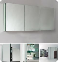 $489 Fresca 60 inch  Bathroom Medicine Cabinet FMC8019 by Fresca