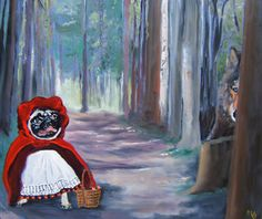 Hey, I found this really awesome Etsy listing at https://www.etsy.com/listing/117285011/pug-art-print-of-an-original-oil
