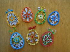2012 Easter 2D eggs/My own original designs - Facebook.com/Zdenka Quilling