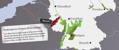 Mapa Zonas Vinícolas de Alemania