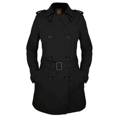Women's Trench from SCOTTEVEST/SeV - Women's Trench with classic double-breasted styling with Hidden Pockets, epaulets, accent buttons and a wide adjustable belt