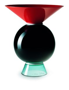 "One of the many ceramic ""totems"" Sottsass has made since the 1960s Design: Ettore Sottsass"