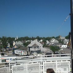 View from the ferry - Vineyard Haven
