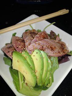 [I Ate] seared tuna salad [2992x4000] http://ift.tt/2e2CzF5