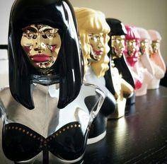 Need a nicki minaj perfume... The bottles are just so pretty to display even when the perfume is out.