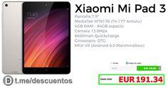 NUEVA Tablet Xiaomi Mi Pad 3 por 191 - http://ift.tt/2porgup