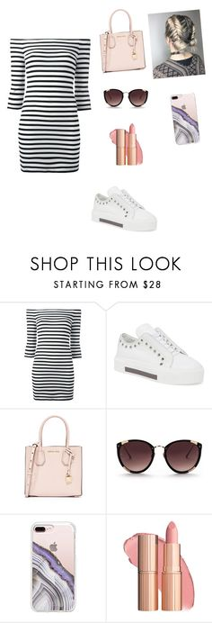 """""""Untitled #329"""" by dulce345 ❤ liked on Polyvore featuring Zoe Karssen, Alexander McQueen, MICHAEL Michael Kors, Rebecca Taylor and Steve Madden"""