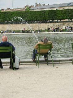 Bassin du jardin du Luxembourg  Grosse envie