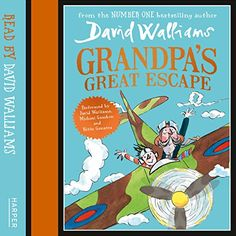 The hotly-anticipated next novel from NUMBER ONE bestselling author, David Walliams  An exquisite portrait of the bond between a small boy and his beloved Grandpa – this book takes readers on an incredible journey with Spitfires over London and Great Escapes through the city in a high octane adventure full of comedy and heart.