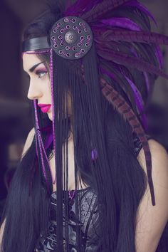 Crimson Memories Designed with Love by Drafted Eminence There are two of these headpieces available! These headdresses are ready to ship in one