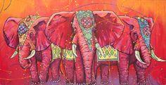 The Universal Indian Elephants    Universalartist    https://www.facebook.com/theuniversalartist