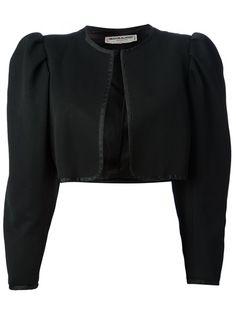 YVES SAINT LAURENT VINTAGE - cropped bolero jacket 6