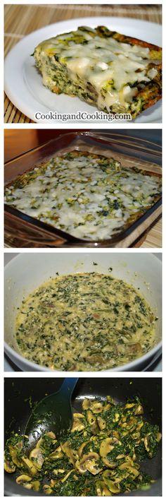 Spinach Ricotta Frittata Recipe
