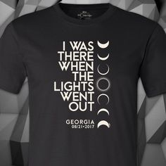 I Was There When The Lights Went Out In Georgia™ Men's T-Shirt