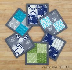 crazy mom quilts: tiny things are my favorite