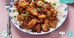 Kipcurry met rijst