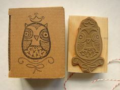 Rubber stamp for children  Back to school  DIY by LaCasuni on Etsy, $25.00