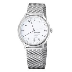Mondaine honouring graphic design tradition in their new watch: Helvetica