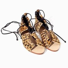 Zara shoes New with tag. EUR 37 US 6.5 Fits size 6.5 to 7. Authentic Leather Zara Shoes