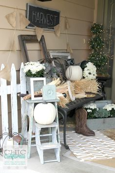 Fall Home Tour - Chic California