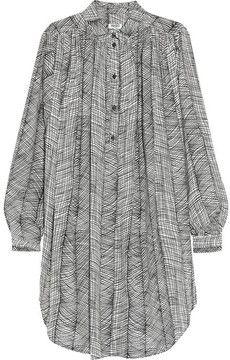 0b0abe3208a2 KENZO Printed cotton shirt dress Mode, Vêtements À La Mode, Tenues À La Mode