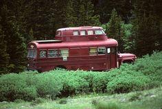 "funky ""Hippie Rv"" in Colorado (photo taken by twm1340 on Flickr)"