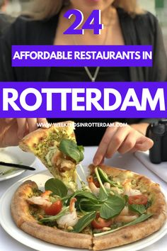Pastas, pizzas, curries, a delicious bowl of ramen, in this article you can find all kinds of amazing, affordable restaurants in Rotterdam. Perfect if you need to stick to a budget when you're in the Netherlands! If you want to be sure of a spot, it's recommended to make a reservation. #rotterdam #netherlands #food #restaurants #affordable #budget European Travel Tips, Europe Travel Guide, Europe Destinations, Travel Abroad, Superfood Salad, Pub Food, Best Street Food, Best Places To Eat, Food Inspiration