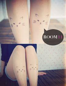ROOM ELEVEN: Trendy Tattooed Tights