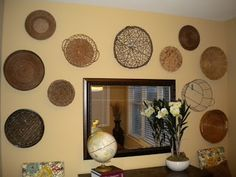 A Tisket, a Tasket, a Wall Full of Baskets