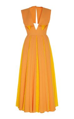 Get inspired and discover Emilia Wickstead trunkshow! Shop the latest Emilia Wickstead collection at Moda Operandi. Day Dresses, Summer Dresses, Emilia Wickstead, Future Fashion, Orange Dress, Tulle Dress, Business Fashion, Fashion Outfits, Womens Fashion