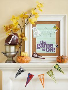 Football Party Ideas from Better Homes and Gardens