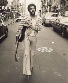 Gilberto Gil (b. June 26, 1942 - 70 today) is a Brazilian singer, guitarist, and songwriter, known for both his musical innovation and his political commitment. From 2003 to 2008, he served as Brazil's Minister of Culture…    He was a key figure in the Música Popular Brasileira and Tropicalismo movements of the 1960s, alongside artists such as longtime collaborator Caetano Veloso…