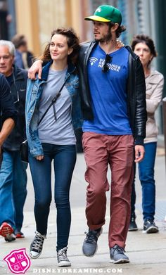 Adam Brody and Leighton Meester out for a stroll amid Rachel Bilson pregnancy news!
