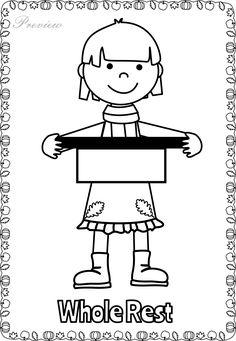 Fall Musical Posters for Coloring Music Math, Preschool Music, Music Activities, Music Classroom, Teaching Music, Music Lessons For Kids, Music For Kids, Sheet Music Art, Music Symbols