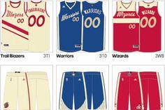 Leaked: 2015 NBA Christmas Day Uniforms