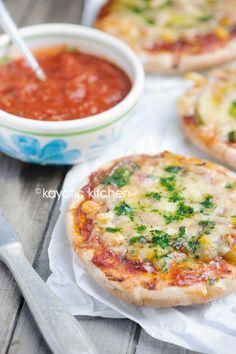Easy Pizza Pitas - Kayotic Kitchen